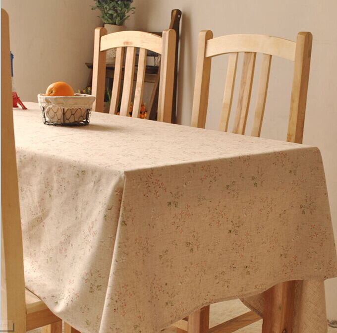 Vintage crown linen table cloth coffee side table towel tablecloth shabby chic home decoration/toalha de mesa(China (Mainland))