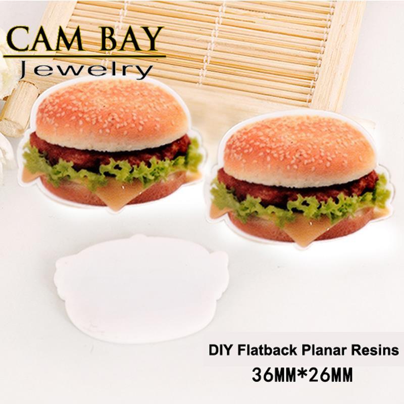 30pcs/lot KFC Kentucky Chicken Hamburger Flatback Resins Fast Food Planar Resin Crafts for DIY Home Decoration Accessories CB411(China (Mainland))