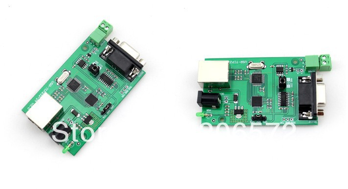 A serial port to network modules RS232 RS485 to Ethernet A serial port server modules(China (Mainland))