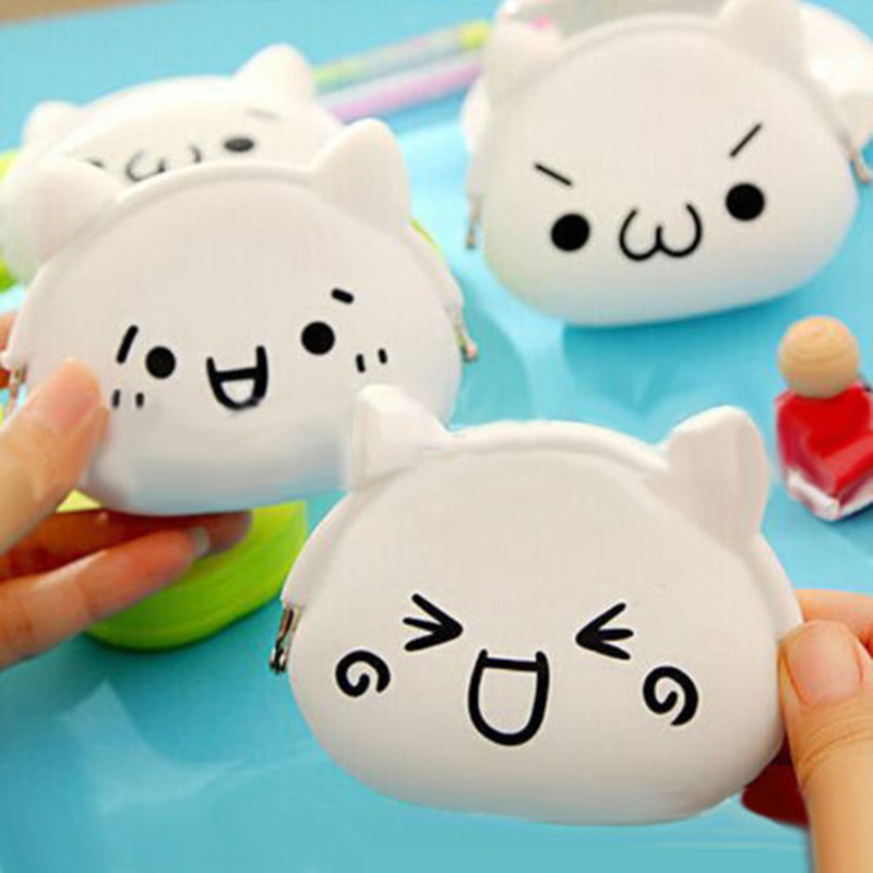Wallet Kawaii Women Girl Gift Cartoon Animal Silicone Jelly Coin Purse JS0041<br><br>Aliexpress