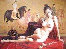 ART OIL Painting Nude