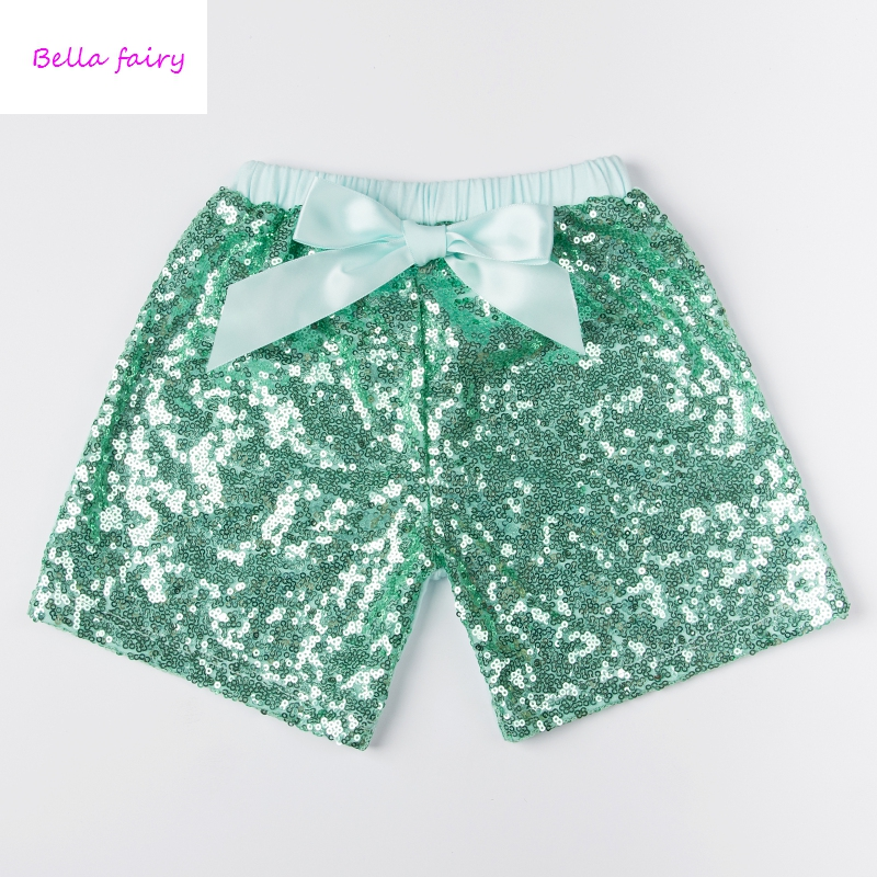 hot selling baby boys shorts baby girl sequin shorts kids