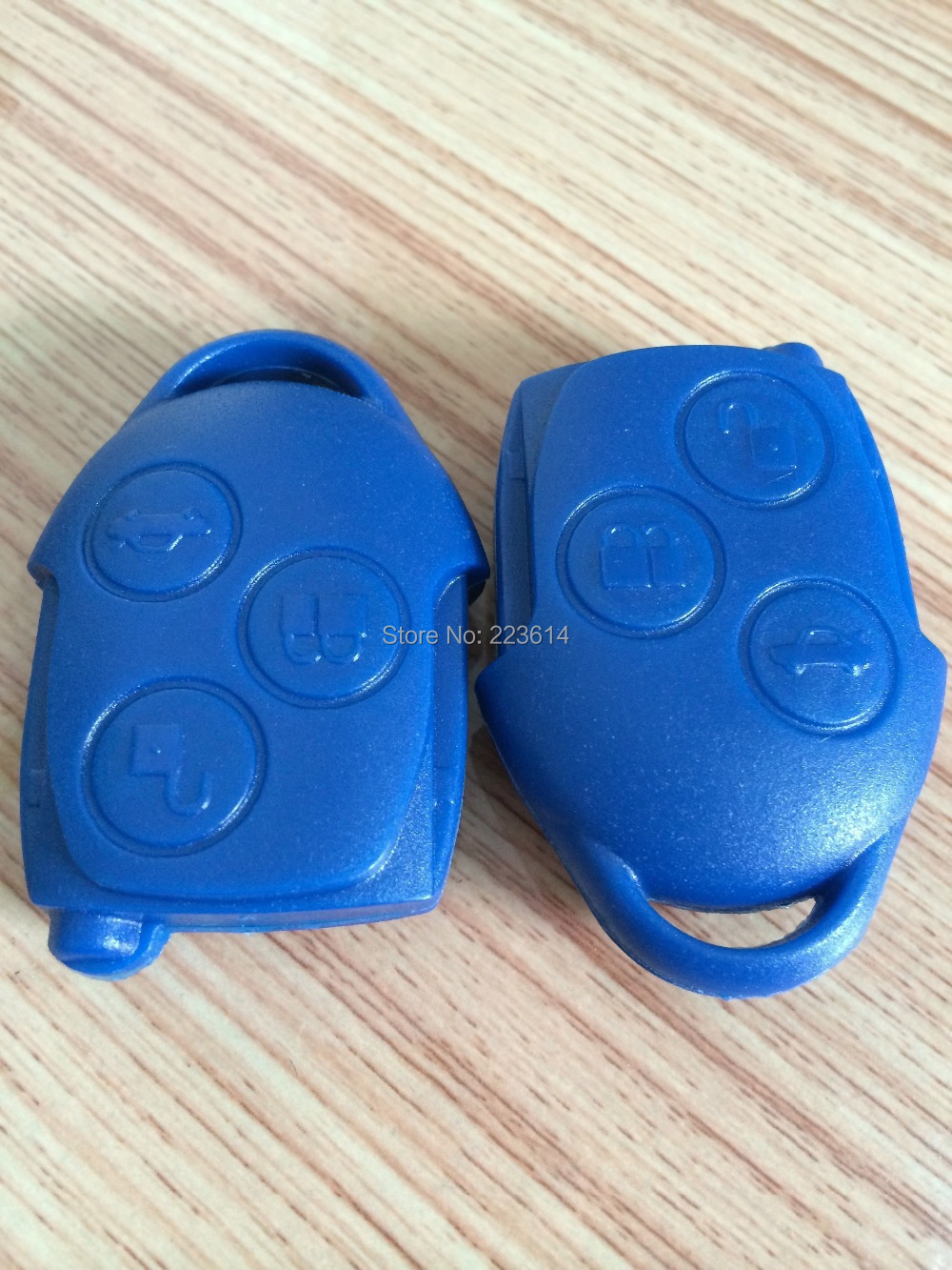 Blue 3B Remote Key For Ford Transit Ford Remote Controls 433MHZ Fit For Europe Model Excellent Quality Free Shipping(China (Mainland))