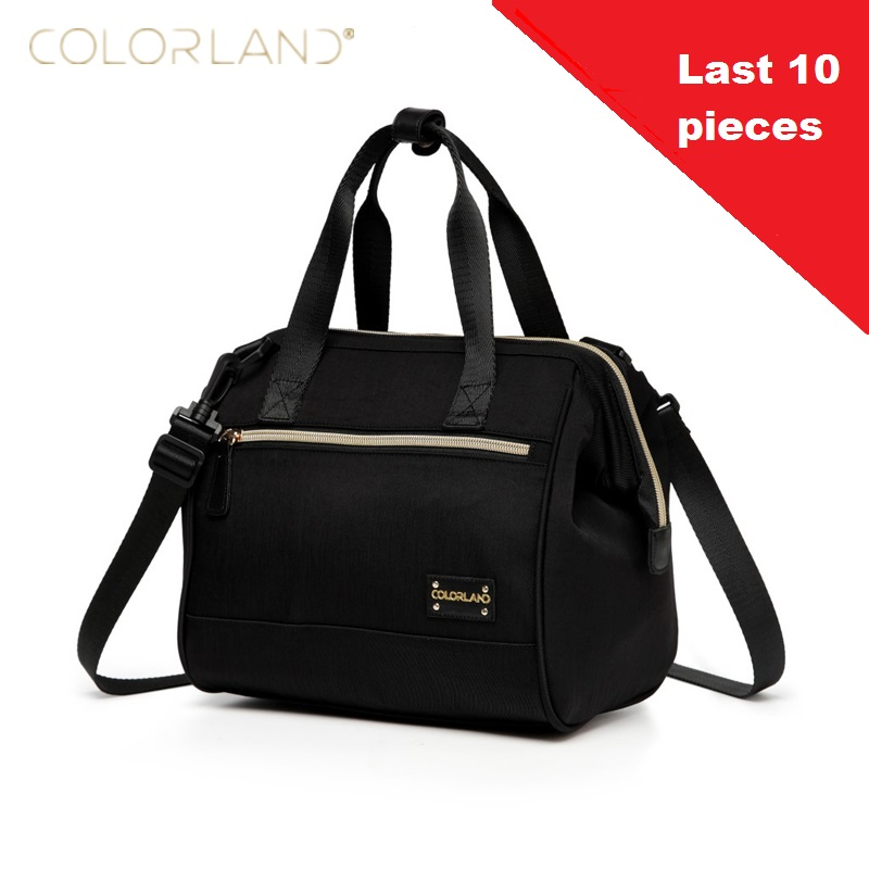 COLORLAND A Baby Bag Diaper Maternity for Mom Nappy Mother Changing Messenger bags Hobos Thermal insulation bag crossbody bag(China (Mainland))