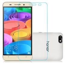 New Tempered Glass Screen Protector Film for Huawei Honor 3C 3X 4C 4X 6 6 plus 7 7i 7 plus enjoy 5 Premium Real 9H 2.5D 0.26mm