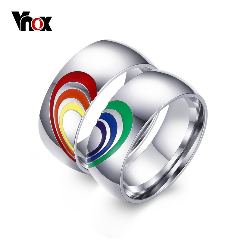 rainbow ring lgbt pride miniature - photo #12