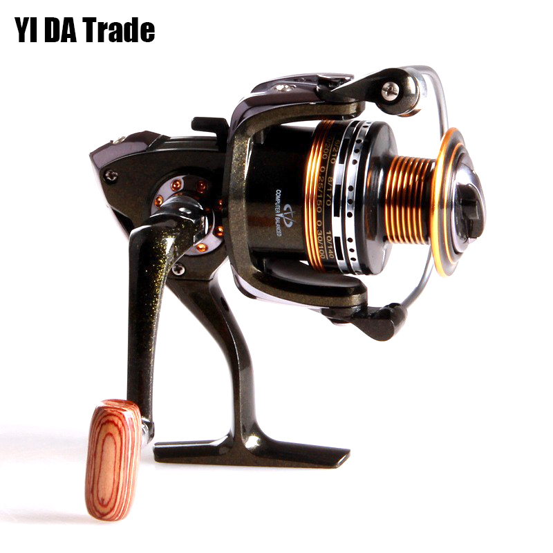 new 12BB + 1 Bearing Balls 2000 3000 4000 5000 6000 Series Spinning Reel Discount Hot Sale for Shimano Feeder Fishing reel(China (Mainland))