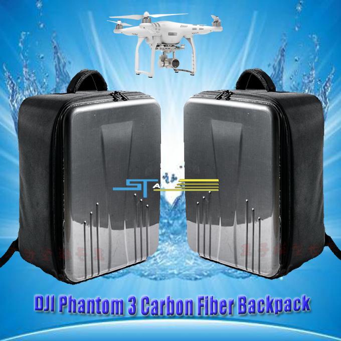 Good Quality Drop Shipping dji phantom Carton Fiber Backpack Travel Shoulder Bag for dji phantom 3 Backpack RC Quadcopter toys(China (Mainland))