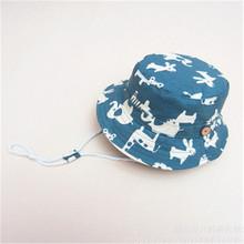 Kids Children Caps UPF 50+ Protection Boys Kids Camo 2in1 Stars pattern Pint High Popular Hats Reversible Cotton Summer Sun Hat(China)