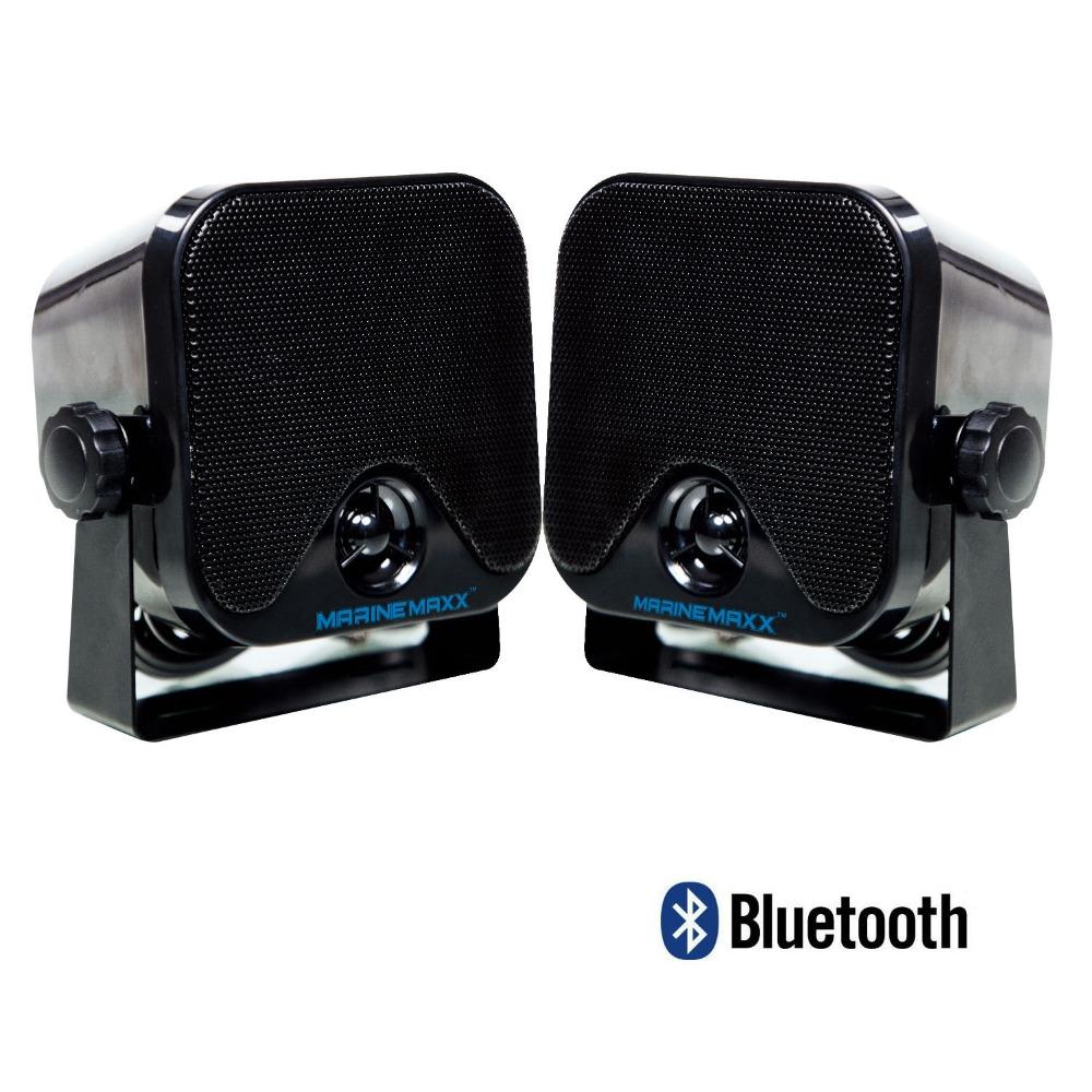 "Waterproof Marine Bluetooth Speaker 4"" Portable Wireless Bluetooth 100W Heavy Duty Speakers for Motorcycle Courtyard Boat Music(China (Mainland))"