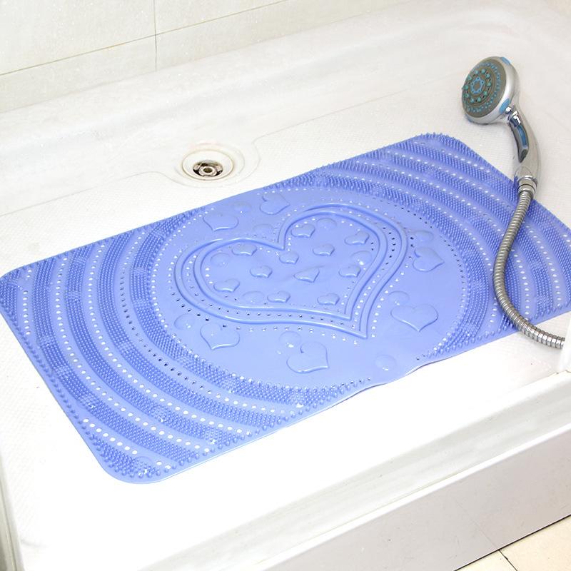 Bathrub Pvc Massage Bath Mat Feet Waterproof