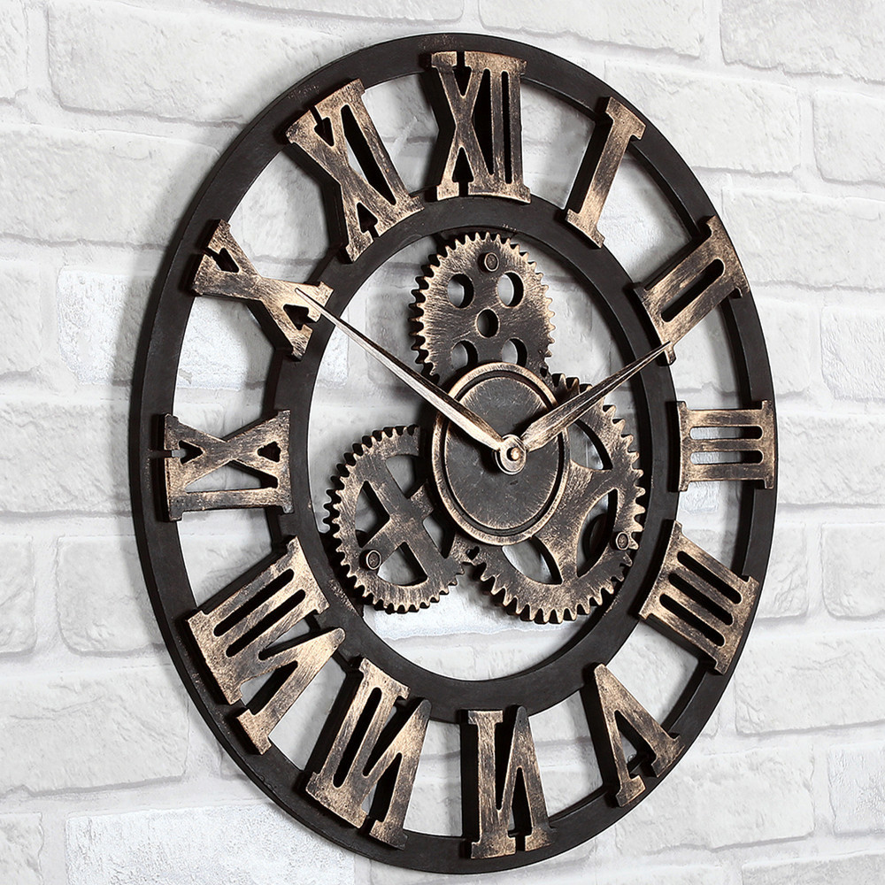 Related keywords suggestions for large wall clocks gears Oversized metal wall clocks