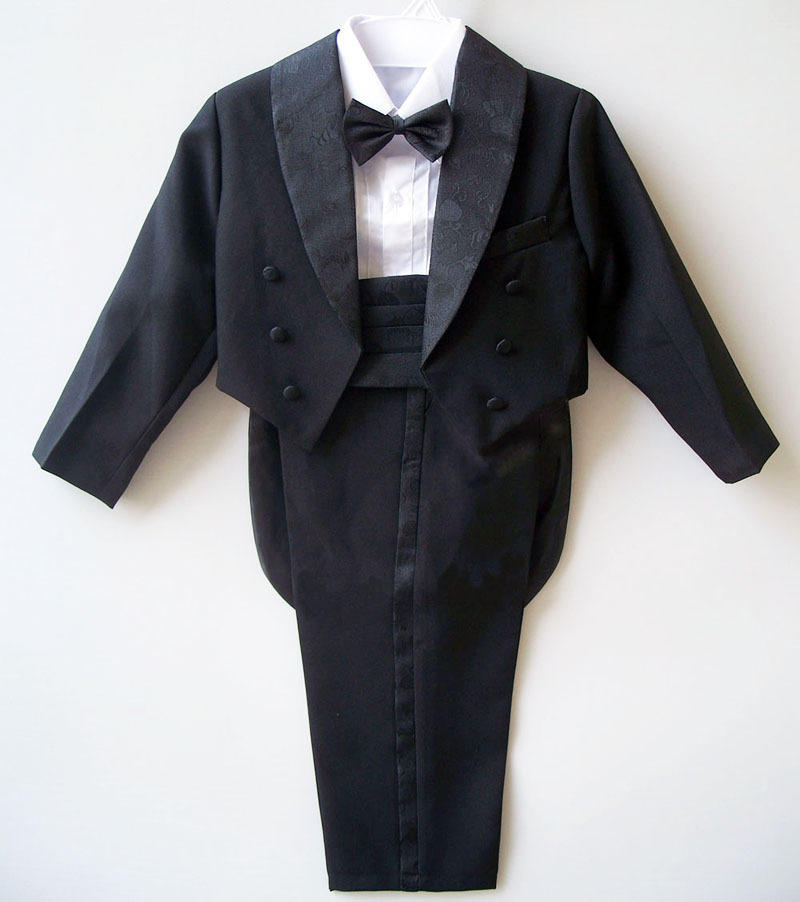 2013 Male child quality formal dress tuxedo five pieces set suit flower children's clothing - Shenzhen WOWO store