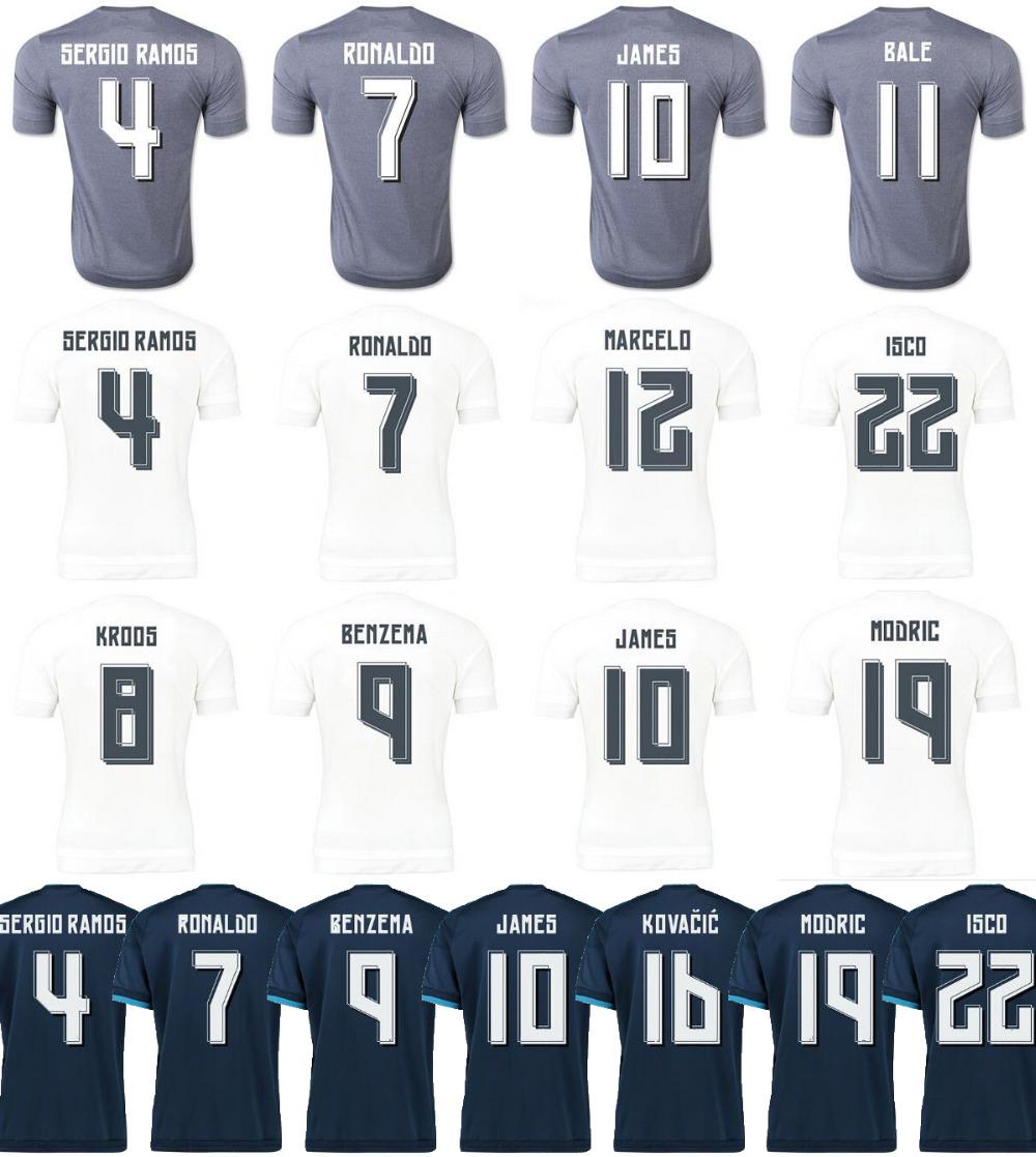 Гаджет  New top quality maillots de foot 2015/16 Soccer Jerseys 2016 madred survetement football shirts 15/16 madIrd camisetas de futbol None Спорт и развлечения
