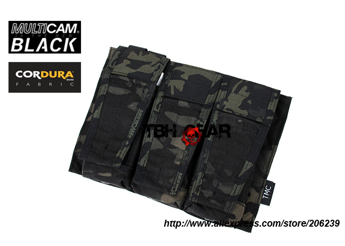 TMC AVS style Mag Pouch USA made 500D Multicam Black Triple Magazine Pouch+Free shipping(SKU12050494)<br><br>Aliexpress