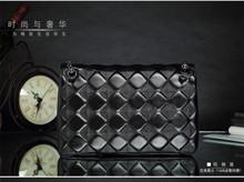 2016 fashion leather shoulder bag handbag fashion handbag import sheepskin Lingge chain of small fragrant bags wholesale(China (Mainland))