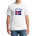 ICELAND Football Fans Cheer Men T Shirts Plus Size 2XL European Cup Fashion Fitness Gym National
