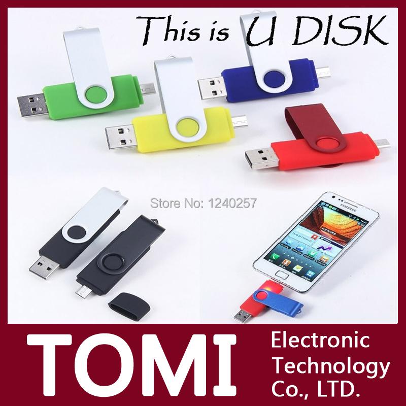 real usb flash drive 64g pen drive 32g pendrive 16g 8g 4g hot sale OTG mobile phone pendrive Usb2.0 memory stick free shipping(China (Mainland))