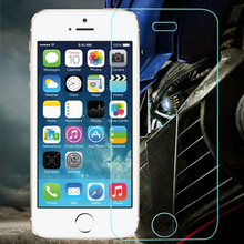 100pcs for iphone 4 4G 4S Toughened glass 9H strong hardness explosion proof tempered glass screen protector film+retail box
