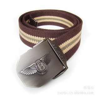 2014 Wholesale supply of new men outdoor canvas belt men thick belt can be lengthened with students belt(China (Mainland))