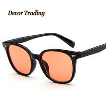 2017 New Fashion Vintage Sunglasses for Women Men Brand Designer Transparent Coating Lens Sun Glasses 9744(China (Mainland))