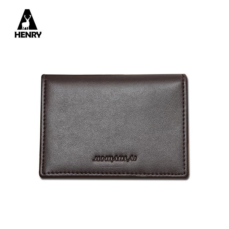 Ultrathin Leather Credit Card Holder Wallets Convenient Card Holder Men Mini Multi ID Credit Card Holder Case CF SD Card Holder(China (Mainland))