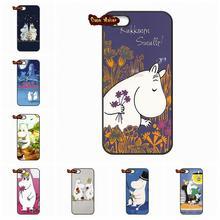 For Xiaomi Mi3 Mi4 Mi5 Redmi Note 2 3 Moomin cards love Snufkin Hard Black Case Cover For HTC ONE S X Desire 820 Xiaomi M3 M4 M5(China (Mainland))