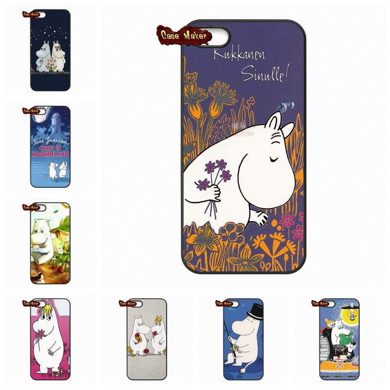 Moomin cards love Snufkin Hard Black Skin Case Cover For Samsung Galaxy S S2 S3 S4 S5 MINI S6 S7 edge Plus Note 2 3 4 5(China (Mainland))