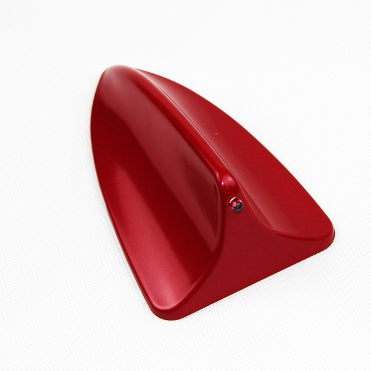 1x Universal Red Car Shark Fin Style Dummy Antenna Decoration Aerials Body kit(China (Mainland))