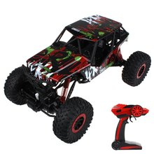 HOT HB - P1002 RC Car 2.4G Four-wheel Drive Rock Crawlers Driving Car Remote Control Car Model Off-Road Vehicle Toy Rally Car(China (Mainland))