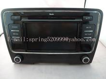 VW SKODA 6 CD CHANGER MEDIA RADIO 28168609 3TD035156 DE2-7WJ CAR TUNER TUNCH SCREEN(China (Mainland))