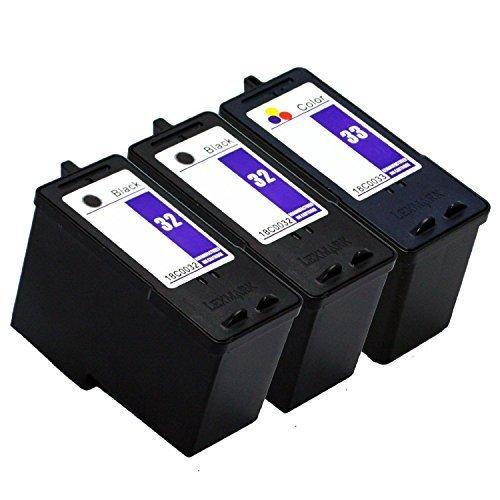 3 pcs compatible ink cartridge for Lexmark 32 33 18C0032 18C0033 Printer P315 P915 P4350 P6210 P6250 X3350 X5250 X5270 X7170<br><br>Aliexpress