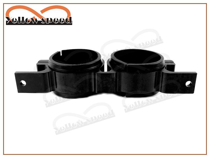 Aluminum Dual Fuel FILTER BRACKET MOUNT CLAMP Fit For BOSCH 044 PUMP BILLET Black(China (Mainland))