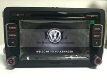 VW Original Newest 6-CD Player Car Radio Stereo RCD510 With Code For Golf 5 6 Jetta MK5 MK6 Passat B6 CC Tiguan Without RVC(China (Mainland))