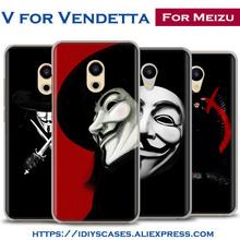 Buy Classic Movie V for Vendetta Design Phone Case Shell For MEIZU Meilan M3 M3S M3e M5 M3Note M5Note MX6 M3X U20 PRO5 PRO6 PRO6S for $2.97 in AliExpress store