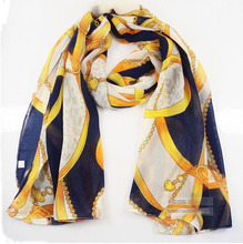 Big promotion 2016 chiffon all-match multi-element leopard print chain heart pendant scarf silk scarf cape 165x70cm(China (Mainland))