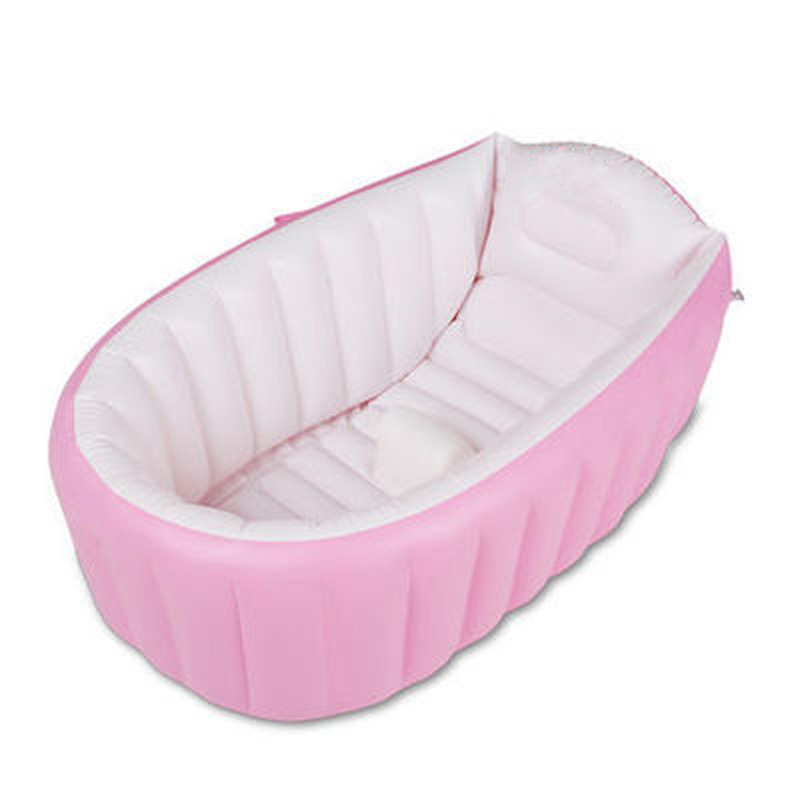 large plastic baby inflatable swimming pool paddling garden pool for infant kids children portable bathtub(China (Mainland))