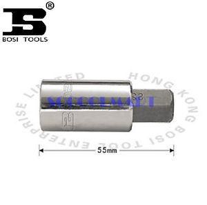 PRETTY 1Pcs 55mm Long 1/2 -inch Drive 17mm Steel Hexagon Screwdriver Bit Socket*