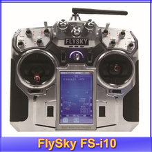 "Free shipping!!2014 New Version FlySky FS-i10 2.4G Digital Proportional 10 Channels Transmitter & Receiver with 3.55"" TFT screen(China (Mainland))"