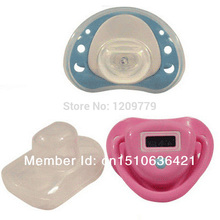 Infant Baby Digital Dummy Pacifier Thermometer Soother Trendy Safe IA646 W