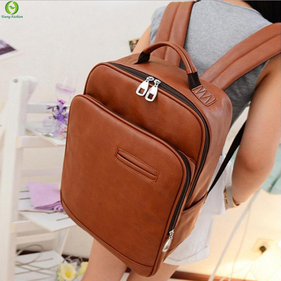 Leather Backpack Melbourne - Crazy Backpacks