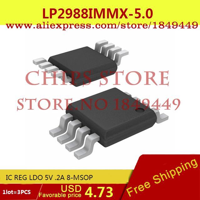 Бесплатная Доставка Электронный LP2988IMMX-5.0 IC REG LDO 5 В. 2A 8-MSOP 2988 LP2988 3 ШТ. бесплатная доставка интегральные схемы типов lt1762ems8 3 3 tr ic reg ldo 3 3 в 15a 8 msop lt1762ems8 3 3 1762 lt1762 3 шт