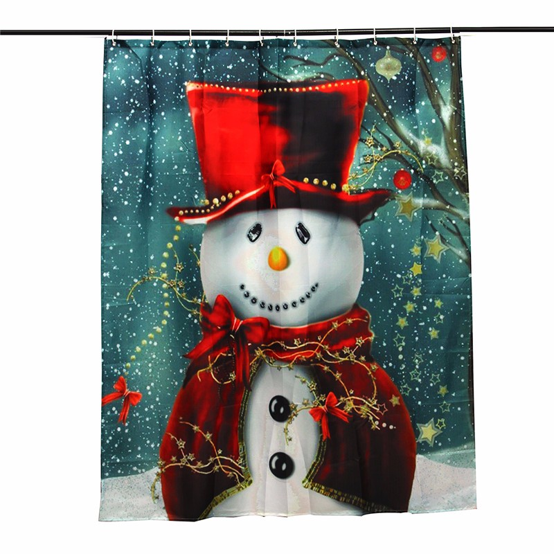 Snowman Shower Curtains Reviews
