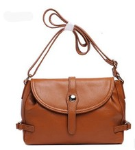 Fashion 2016 Bags Female Vintage Women s Cowhide Genuine Leather Handbag One Shoulder Cross Body Fashion