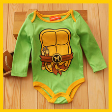 Teenage Mutant Ninja Turtles Baby Boy Bodysuits Body Bebe Menino
