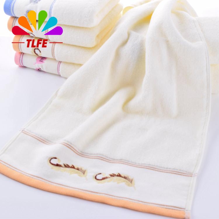 2015 New 4pcs A Lot Brand Fiber FACE Towel Set 33*75cm 100% Cotton Towels 100% Cotton Soft Beach Towel Bulk Cheap Towel FT681(China (Mainland))