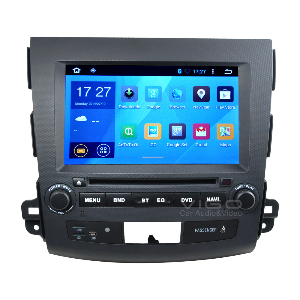 "8"" Android 4.4 Car DVD for Mitsubishi Outlander Citroen C-Crosser Peugeot 4007 GPS Satnav Navigation Autoradio Sat Capacitive(Hong Kong)"