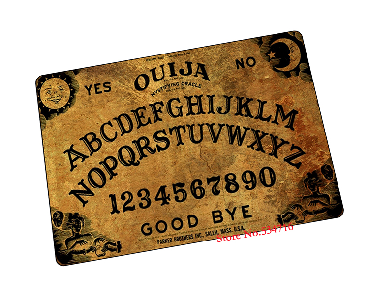 ouija board mouse pad Popular gaming laptop large mousepad gear notbook computer gamer play mats - Aries's free space store