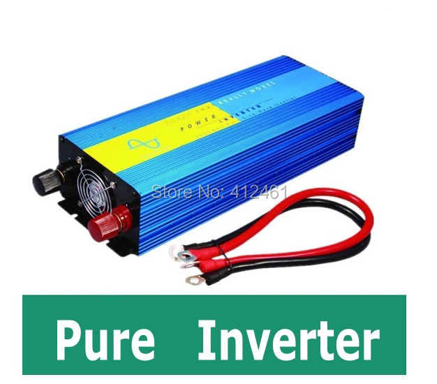 Onda senoidal Pura inversor 2500 watts 24V DC to 220V AC inverter pure sine wave 2500W,surge 5000W 2500w pura sinus inverter<br>