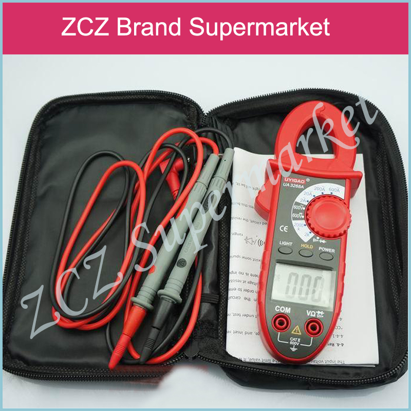 ZCZ UNI-T UT210E True RMS AC/DC Current Mini Clamp Meters w/Capacitance Tester Digital Earth Ground Multimeter Megohmmeter ZX049(China (Mainland))